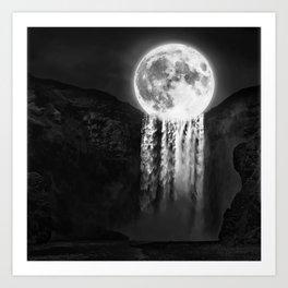 MoonFall Art Print