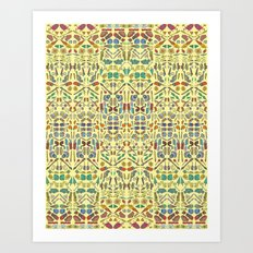 Pieces of Yourself. Art Print