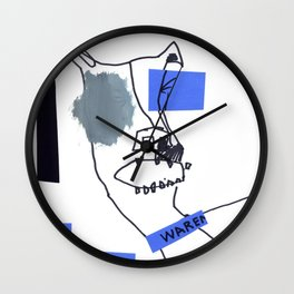 Tug of Warren Wall Clock