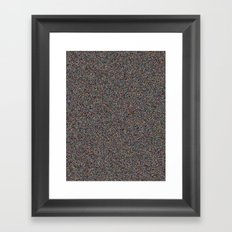 NOiSE Framed Art Print