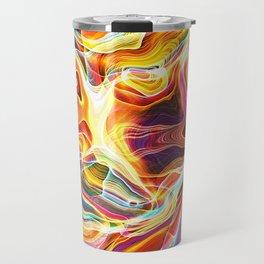 Abstract Glow Travel Mug