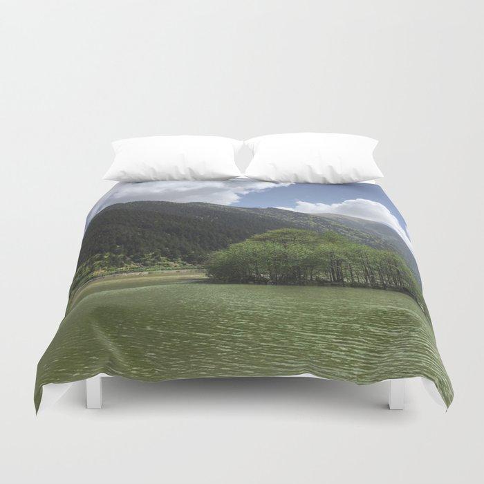 GREEN ART Duvet Cover