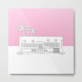 Iced Cream Factory Metal Print