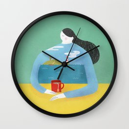 Sea Shirt Wall Clock