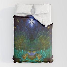 Love Birds - Fractal Manipulation Comforters