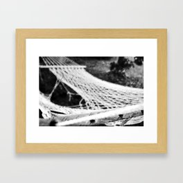 Hammock Framed Art Print