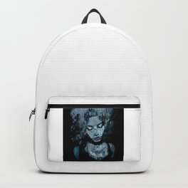 Melancholy in Black and Blue Backpack