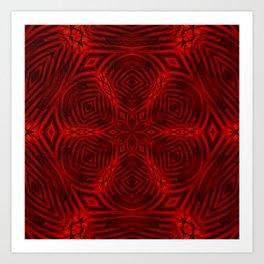 Kaleidoscope 'K3 SQ' Art Print