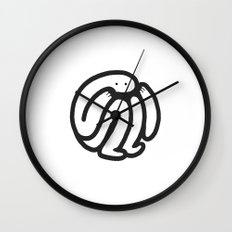 babble Wall Clock