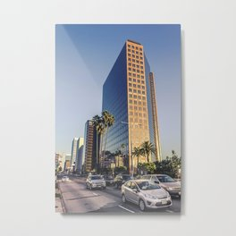 6500 Wilshire BLVD Los Angeles Metal Print