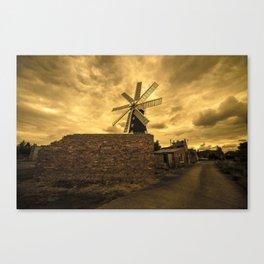 Eight Sailed Mill  Canvas Print