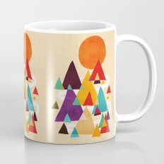 Let's visit the mountains Mug