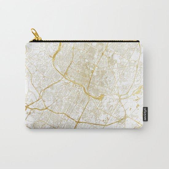 Austin Map Gold by hubertroguski