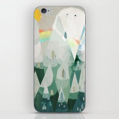 the rainbow critter iPhone & iPod Skin