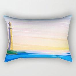 In waiting Rectangular Pillow
