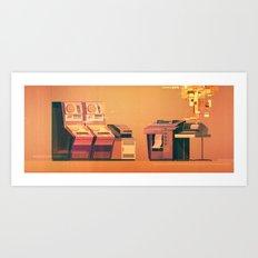 Computer No.3 Art Print