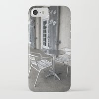 cafe iPhone & iPod Cases featuring Cafe by David Turner