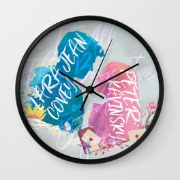 to all the boys i've loved before - PK and LJ Wall Clock