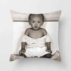 Orphan Boy (Toned) Throw Pillow