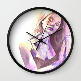 First Day of Summer Wall Clock