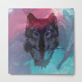 the wolf 7 Metal Print