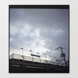 this is ray Canvas Print