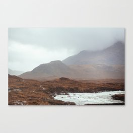 Scottish landscape, I Canvas Print