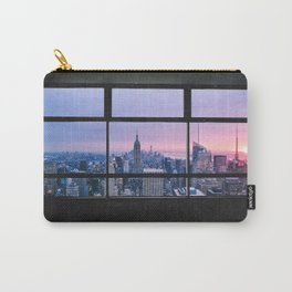 New York City Skyline Views Carry-All Pouch