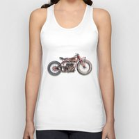 indian Tank Tops featuring Indian by The Junkers