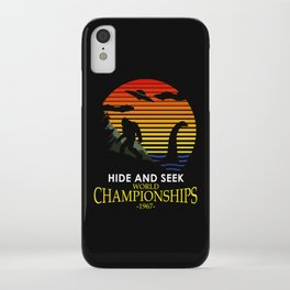 Hide And Seek World Championships 1967 iPhone Case