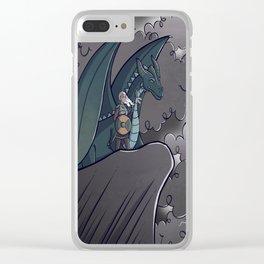 Dragon Warrior Clear iPhone Case
