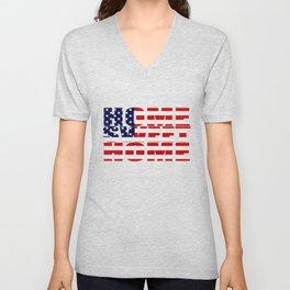 Home Sweet Home (America) Unisex V-Neck