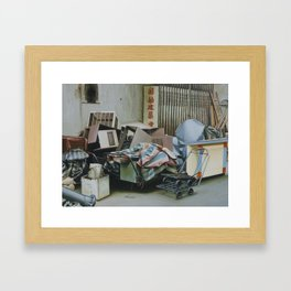 Pile And Pile 1 Framed Art Print