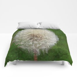 Dandelion Ballerina Comforters