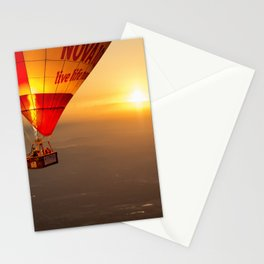 Adrift in the Mist at Sunrise Stationery Cards