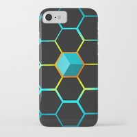 technology iPhone & iPod Cases featuring Technology hive by JW's art