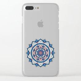Mandala Tujuh / Seven Clear iPhone Case