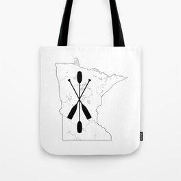 Paddle MN Tote Bag