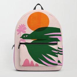 Abstraction_BIRD_SUN_Beautiful_Day_Minimalism_001 Backpack