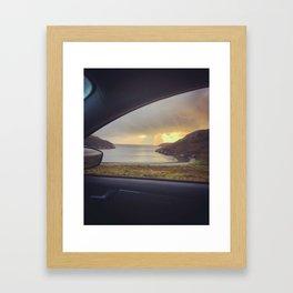 Kinlochbervie Sunset Framed Art Print
