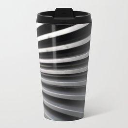 Curved Lines Travel Mug