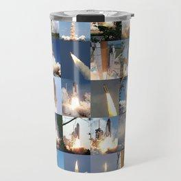 Shuttle Montage Travel Mug