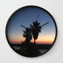 Menorca Sunrise Wall Clock