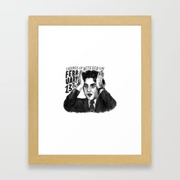 Ryan | Office Framed Art Print