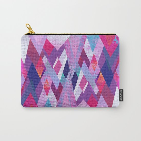 Geo abstract 1 Carry-All Pouch