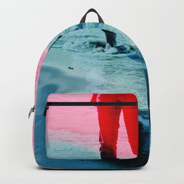 A girl and the sea Backpack