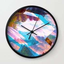 lucid breeze Wall Clock
