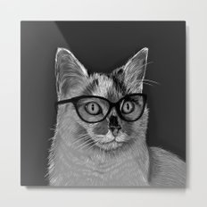 She's A Cool Cat Metal Print