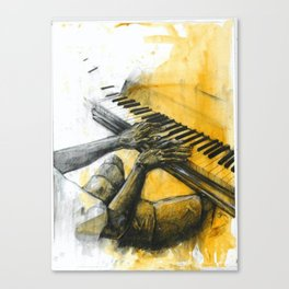 Classic Material Series - Keys in A Minor (c.2006) Canvas Print