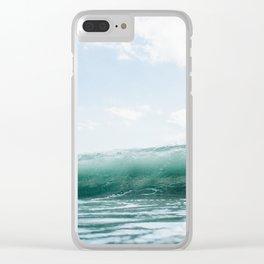 Wave Crash - Tropical Crash Clear iPhone Case
